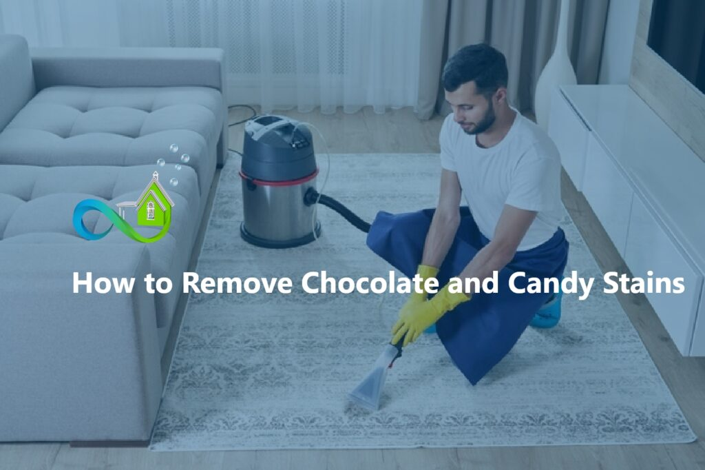 How to Remove Chocolate and Candy Stains